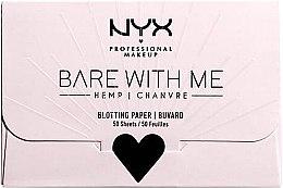 Düfte, Parfümerie und Kosmetik Mattierendes Spezialpapier - NYX Professional Makeup Bare With Me Mattifying Oil Control Paper