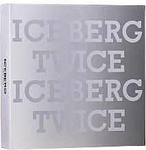 Düfte, Parfümerie und Kosmetik Iceberg Twice Homme - Duftset (Eau de Toilette 125ml + Kosmetiktasche)
