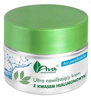 Extra feuchtigkeitsspendende Gesichtscreme mit Hyaluronsäure - AVA Laboratorium Ultra Moisturizing Hyaluronic Cream — Bild N1