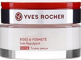 Düfte, Parfümerie und Kosmetik Straffende Nachtcreme gegen Falten - Yves Rocher Serum Vegetal Firming Night Cream