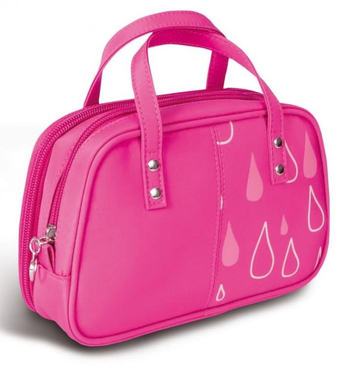 """Kosmetiktasche mit Griffen """"Tröpfchen"""" 4944 rosa - Donegal Cosmetic Bag — Bild N1"""