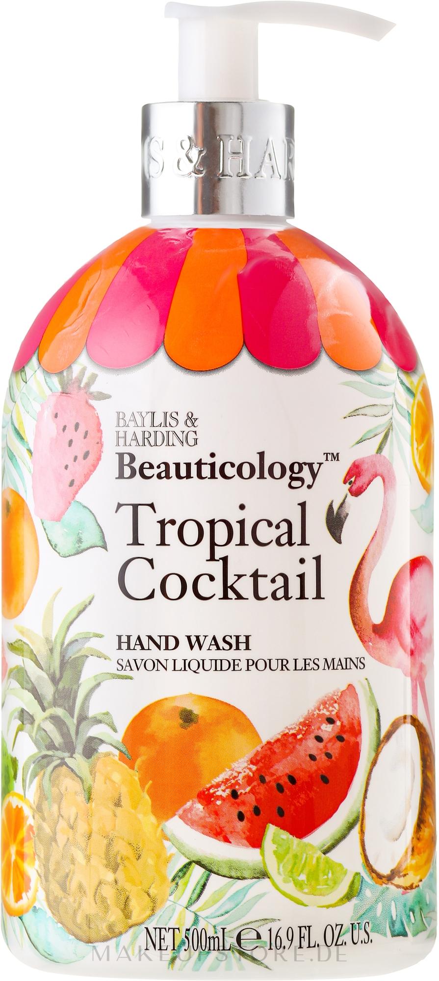 """Flüssige Handseife """"Schöllkraut"""" - Baylis & Harding Beauticology Tropical Cocktail Hand Wash — Bild 500 ml"""