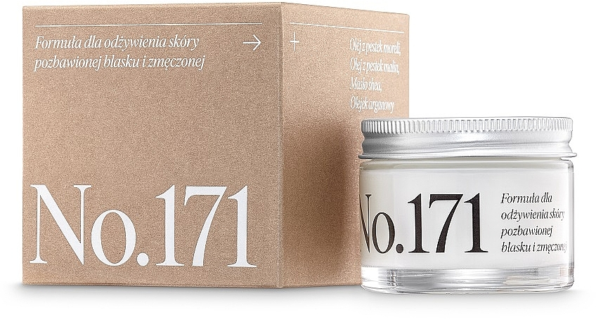 Nährende und feuchtigkeitsspendende Gesichtscreme für müde Haut - Make Me Bio Receptura 171 — Bild N1