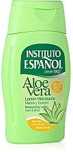 Düfte, Parfümerie und Kosmetik Feuchtigkeitsspendende Hand- und Körperlotion mit Aloe Vera - Instituto Espanol