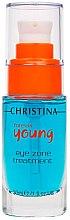 Augenkonturgel SPF 15 - Christina Forever Young Eye Zone Treatment — Bild N1