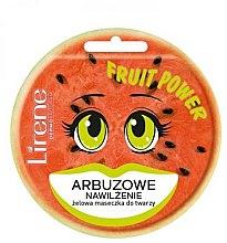 Düfte, Parfümerie und Kosmetik Peeling-Gesichtsmaske Wassermelone - Lirene Fruit Power