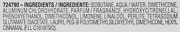 Deospray Antitranspirant - Garnier Mineral Invisible Black White Colors — Bild N3