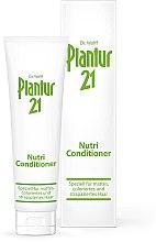 Düfte, Parfümerie und Kosmetik Spezielle Haarspülung für mattes, coloriertes und strapaziertes Haar - Plantur 21 Nutri-Coffein Conditioner