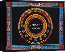 Düfte, Parfümerie und Kosmetik Versace Pour Femme Dylan Blue - Duftset (Eau de Parfum 50ml + Körperlotion 50ml + Duschgel 50ml)