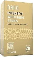 Düfte, Parfümerie und Kosmetik Intensive Zahnaufhellungsstreifen - WhiteWash Nano Intensive Whitening Strips