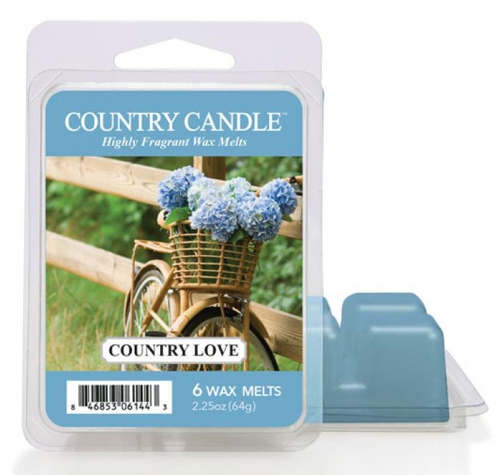 Tart-Duftwachs Country Love - Country Candle Country Love Mini Wax Melts — Bild N1