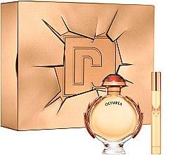Düfte, Parfümerie und Kosmetik Paco Rabanne Olympea Intense - Duftset (Eau de Parfum/80ml + Eau de Parfum/Mini/10ml)
