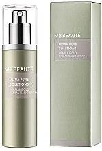 Düfte, Parfümerie und Kosmetik Feuchtigkeitsspendendes und regenerierendes Gesichtspray mit Perlenpulver und Gold - M2Beaute Ultra Pure Solutions Facial Nano Spray