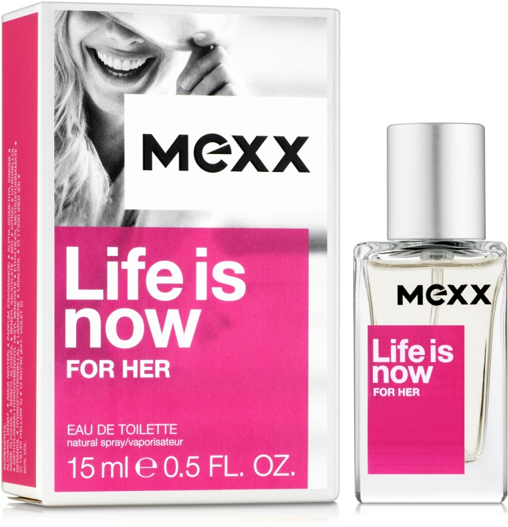 Mexx Life is Now for Her - Eau de Toilette (Mini)  — Bild N1