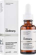 Düfte, Parfümerie und Kosmetik Aufhellendes Gesichtsserum mit Ascorbyl Glucuside - The Ordinary Ascorbyl Glucoside Solution 12%