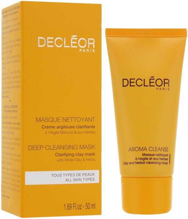 Gesichtsreinigungsmaske - Decleor Masque A L`Argile Et Aux Herbes — Bild N1