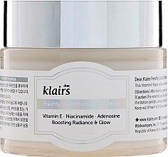 Verjüngende Gesichtsmaske mit Vitamin E und Niacinamid - Klairs Freshly Juiced Vitamin E Mask — Bild N1