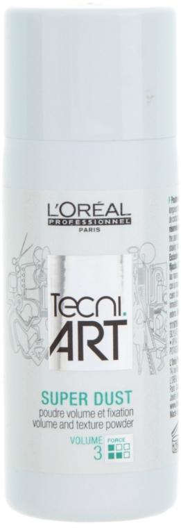 Haarpuder für mehr Textur und Volumen Haltegrad 3 - L'Oreal Professionnel Tecni.art Super Dust — Bild N1