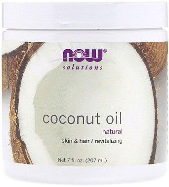 Revitalisierende Kokosbutter für Haut und Haar - Now Foods Solution Coconut Oil — Bild N1