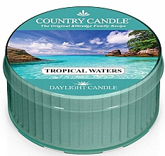 Düfte, Parfümerie und Kosmetik Duftkerze Tropical Waters - Country Candle Tropical Waters Daylight