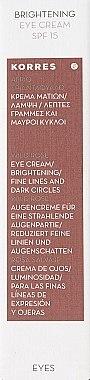 Augenkonturcreme mit Wildrose - Korres Wild Rose Brightening Eye Cream For Fine Lines & Dark Circles — Bild N3