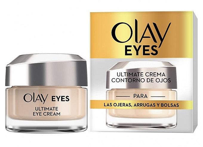 Augenkonturcreme gegen dunkle Ringe, Falten und Tränensäcke - Olay Eyes Ultimate Eye Contour Cream — Bild N1