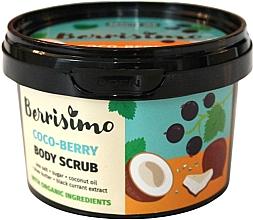 Düfte, Parfümerie und Kosmetik Körperpeeling mit Kokosnussöl und schwarzem Johannisbeerextrakt - Berrisimo Coco-Berry Body Scrub