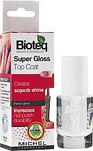 Düfte, Parfümerie und Kosmetik Nagelüberlack mit Glanz-Effekt - Bioteq Super Gloss Top Coat