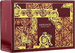 Düfte, Parfümerie und Kosmetik Versace Crystal Noir - Duftset (Eau de Parfum 90ml + Mini 10ml + Kosmetiktasche)