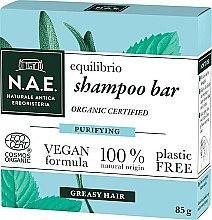 Düfte, Parfümerie und Kosmetik Festes Shampoo für fettiges Haar - N.A.E. Equilibrio Purifying Shampoo Bar