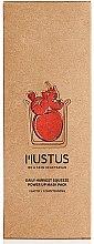 Düfte, Parfümerie und Kosmetik Feuchtigkeitsspendende Gesichtsmaske mit Tomaten-, Apfel-, Erdbeer-, Kirsch- und Granatapfelextrakte - Mustus Daily Harvest Squeeze Power Up Mask