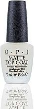 Düfte, Parfümerie und Kosmetik Matter Überlack - O.P.I Matte Top Coat