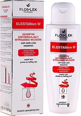 Shampoo gegen Haarausfall für dünnes Haar - Floslek ElestaBion W Anti-Hair Loss Shampoo — Bild N1