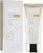 Düfte, Parfümerie und Kosmetik Aufhellende Anti-Falten BB Gesichtscreme mit Scheckenschleimfiltrat SPF 50+ - FarmStay Snail Repair BB Cream SPF 50+