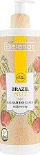 Düfte, Parfümerie und Kosmetik Pflegender Körperbalsam mit Paranuss - Bielenda Brazil Nut Balsam