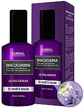 Düfte, Parfümerie und Kosmetik Ultra Serum für Haare Weißer Moschus - Kundal Macadamia White Musk Ultra Serum