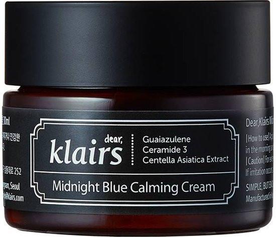 Feuchtigkeitsspendende und beruhigende Gesichtscreme - Klairs Midnight Blue Calming Cream — Bild N1