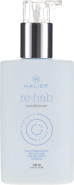 Normalisierender Conditioner für fettiges Haar - Halier Re:hab Conditioner — Bild N2