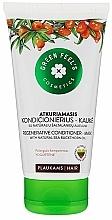 Düfte, Parfümerie und Kosmetik Regenerierende Haarspülung-Maske mit natürlichem Sanddornöl - Green Feel's Regenerating Hair Conditioner-Mask With Natural Sea Buckthorn Oil
