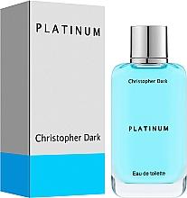 Düfte, Parfümerie und Kosmetik Christopher Dark Platinum - Eau de Toilette