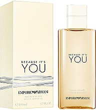 Düfte, Parfümerie und Kosmetik Giorgio Armani Because It's You - Duschgel