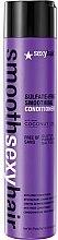 Düfte, Parfümerie und Kosmetik Conditioner für langes und strapaziertes Haar - SexyHair SmoothSexyHair Anti-Frizz Conditioner