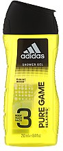 Adidas Pure Game - Duftset (Deodorant/75ml + Duschgel/250ml) — Bild N3