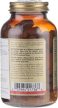 Nahrungsergänzungsmittel-Komplex für Gesicht, Haar und Nägel - Solgar Solgar Skin Nails And Hair Formula — Bild N2