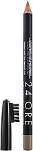 Düfte, Parfümerie und Kosmetik Augenbrauenstift mit Bürste - Deborah 24Ore Eyebrow Pencil
