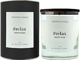 Düfte, Parfümerie und Kosmetik Duftkerze im Glas White Musk - Ambientair The Olphactory Relax White Musk Black Design