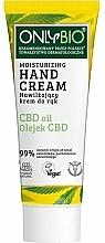 Düfte, Parfümerie und Kosmetik Feuchtigkeitsspendende Handcreme - Only Bio Only Eco CBD Oil