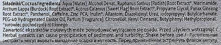 Kopfhaut Komplex mit Extrakten aus schwarzem Rettich - Farmona Seboravit  — Bild N4