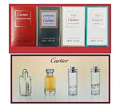 Düfte, Parfümerie und Kosmetik Cartier Gist Set - Duftset (Eau de Toilette 4ml + Eau de Toilette 2x5ml + Eau de Parfum 5ml)