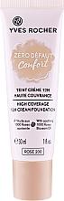 Düfte, Parfümerie und Kosmetik Langanhaltende Creme-Foundation für einen perfekten, ebenmäßigen Teint mit hoher Deckkraft - Yves Rocher Zero Defaut Comfort 12h Cream Foundation